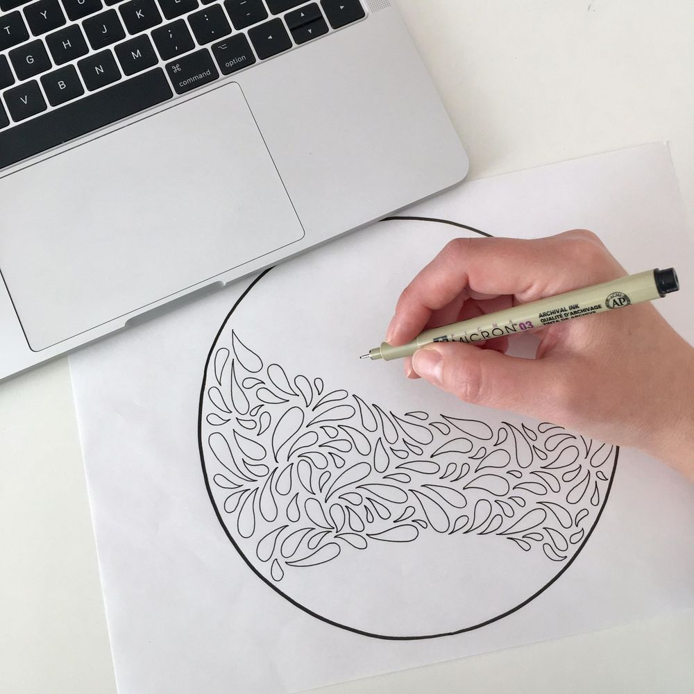 Practice drawing in circles - image 2 - student project