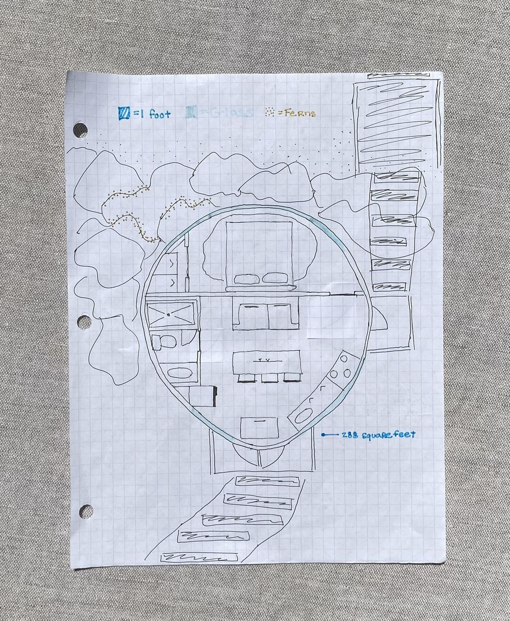 Sunset Rock Tiny house - image 2 - student project