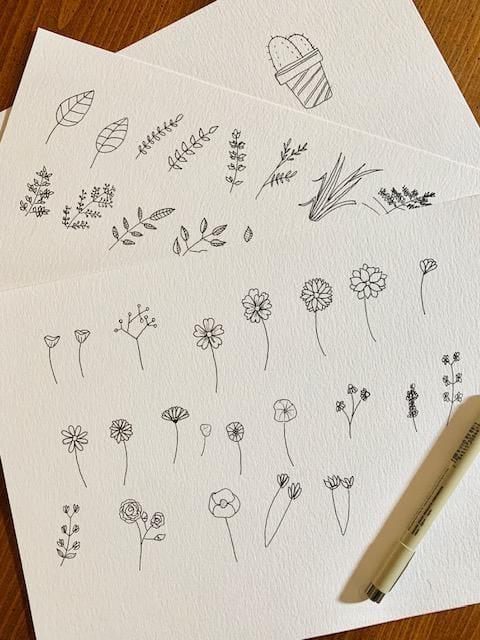 Les Fleurs - image 1 - student project