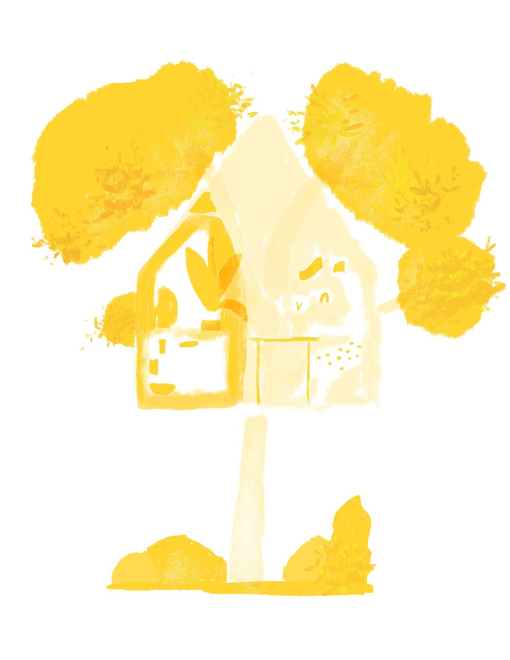 My dream studio: A Tree House - image 4 - student project
