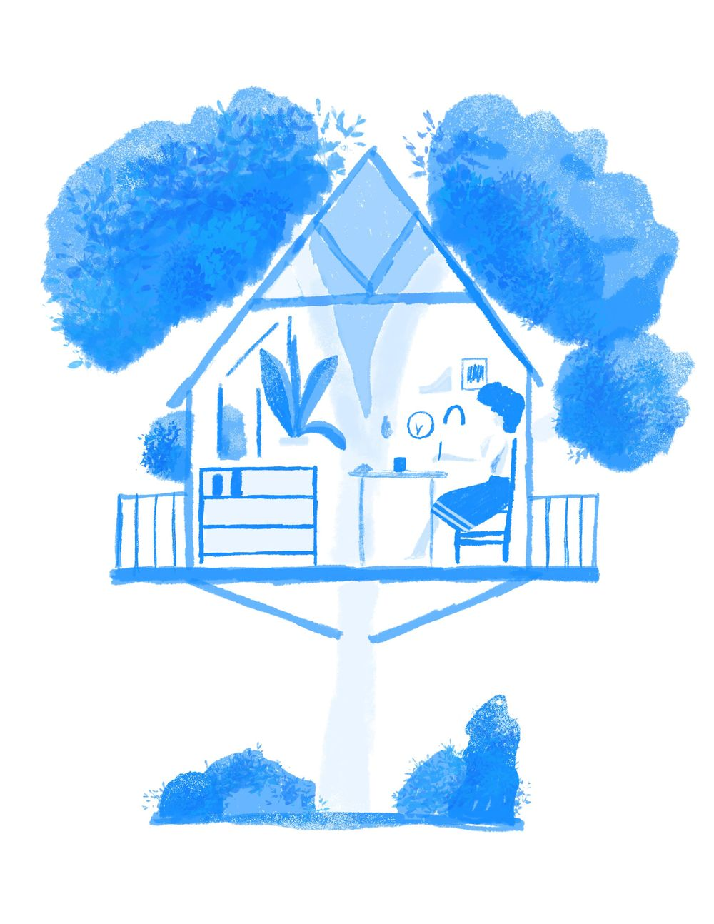 My dream studio: A Tree House - image 2 - student project