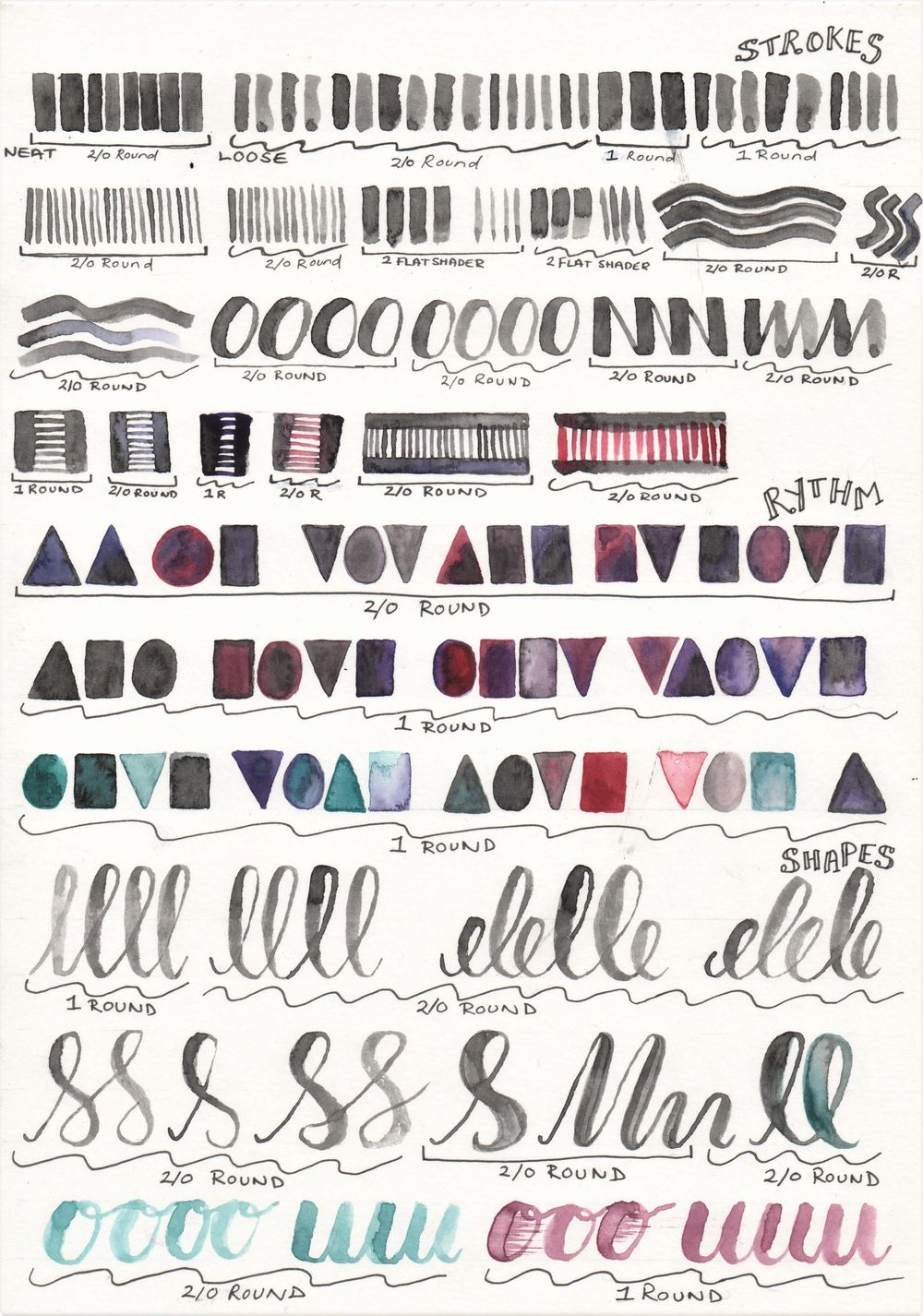 Learning Lettering - image 1 - student project