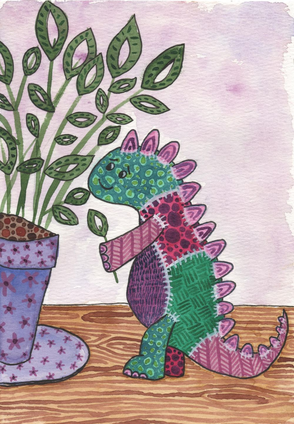 Dinosaur Plushie Textures - image 3 - student project