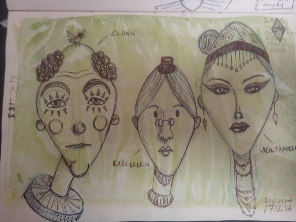 Face Shapes Circus - image 1 - student project