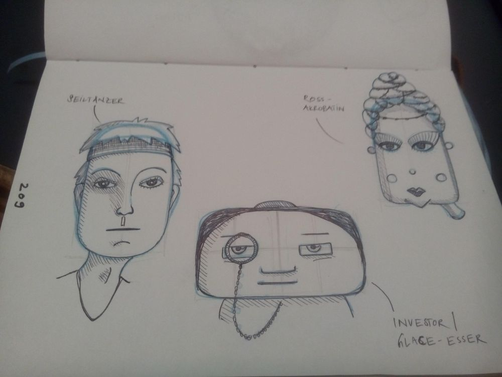 Face Shapes Circus - image 5 - student project