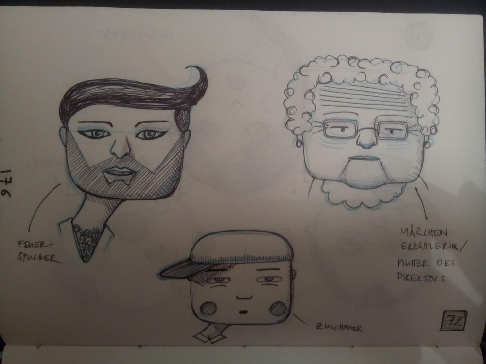 Face Shapes Circus - image 8 - student project
