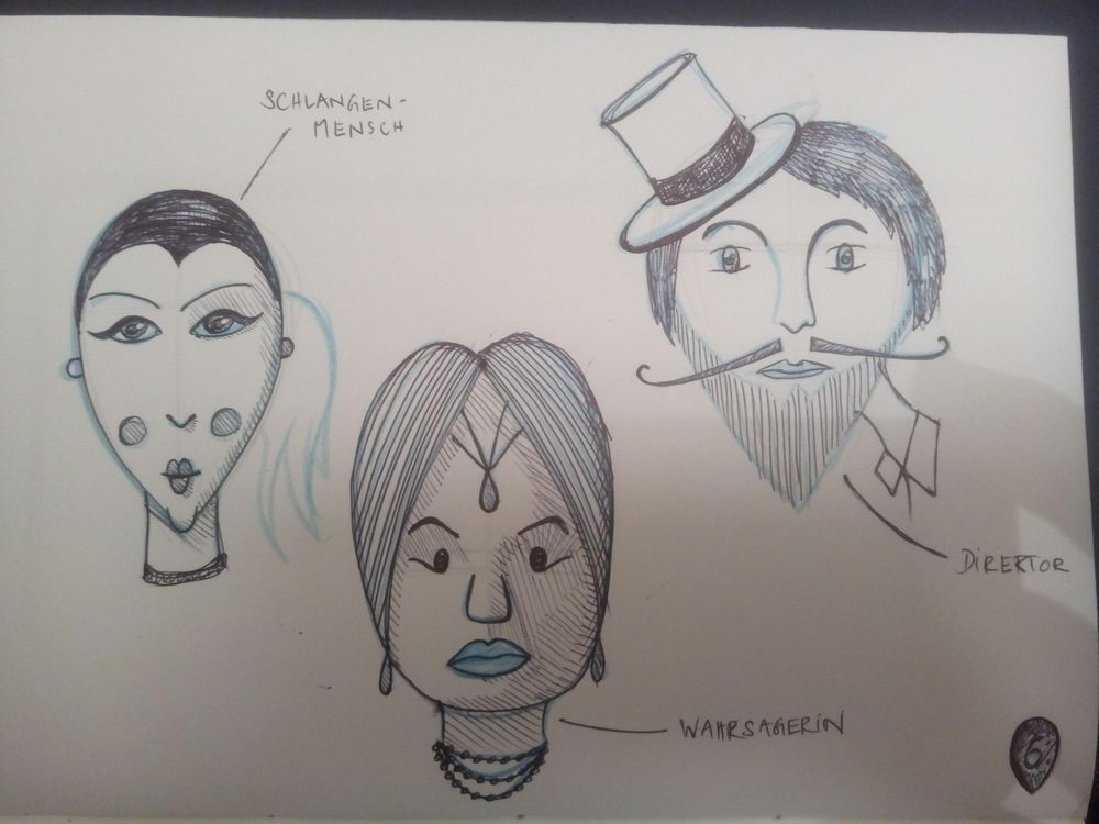 Face Shapes Circus - image 3 - student project