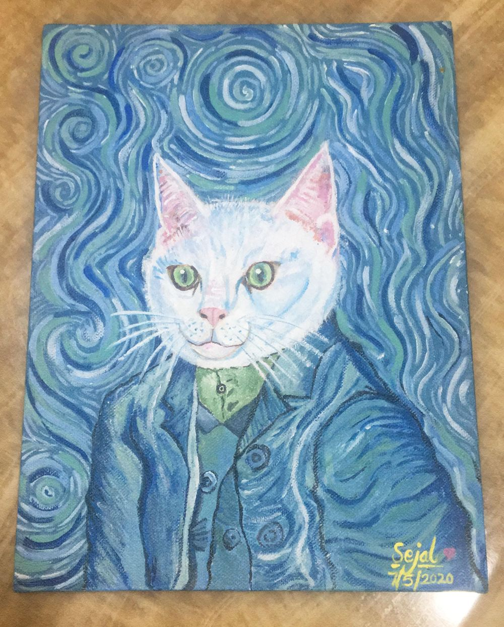 My Cat - image 2 - student project