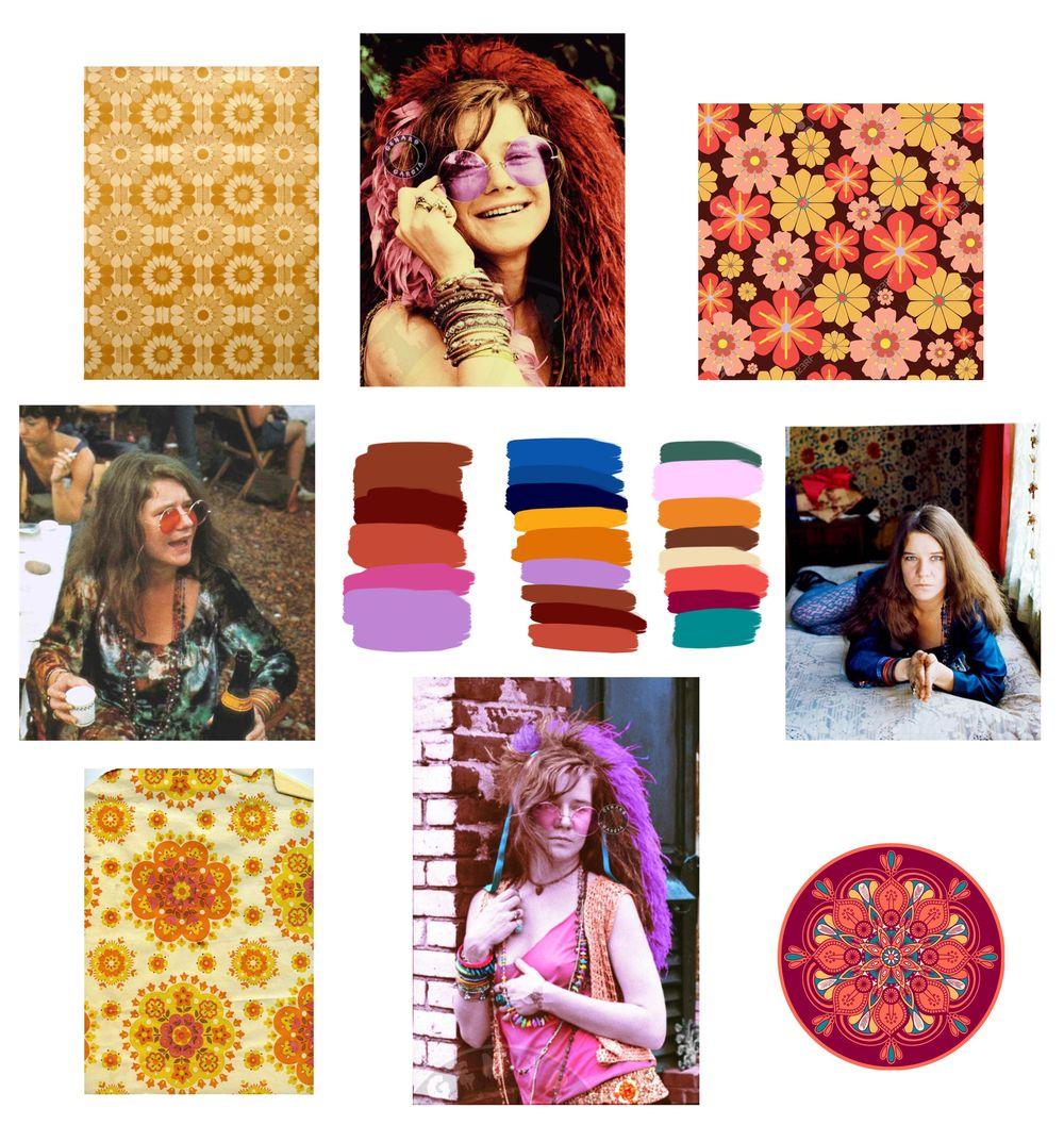 Janis Joplin - image 3 - student project