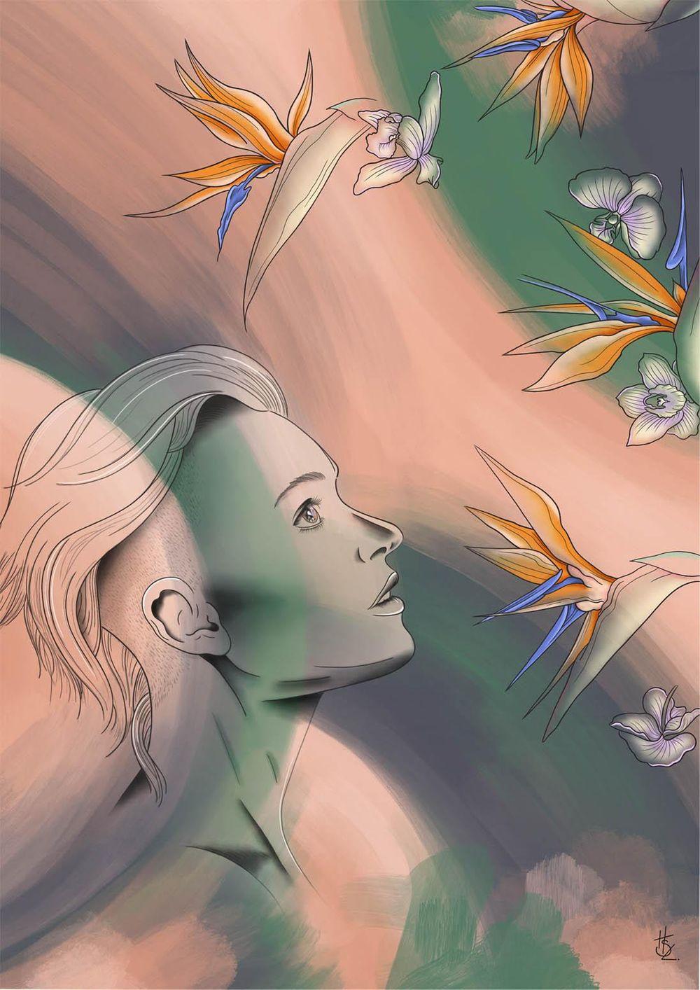 Intro & Goals (Digital Illustration) - image 4 - student project