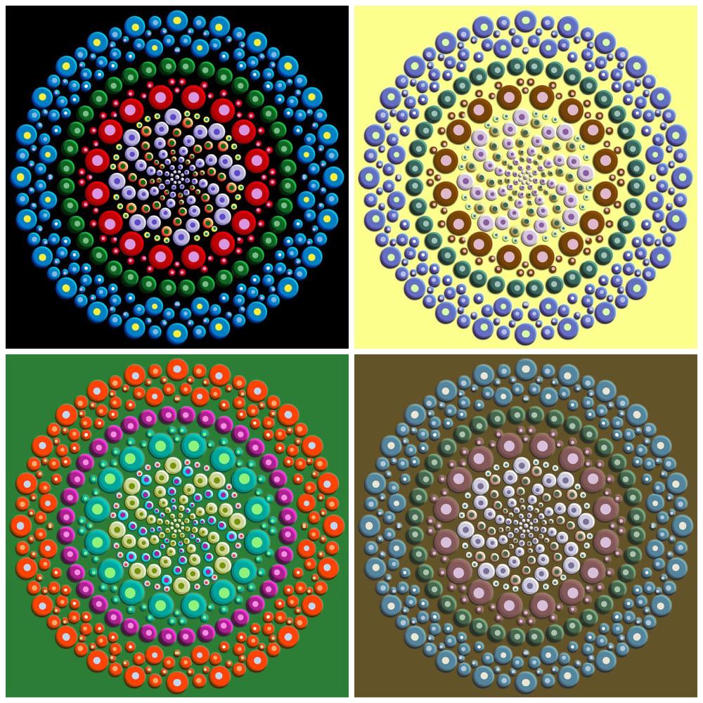 3D mandala - image 1 - student project