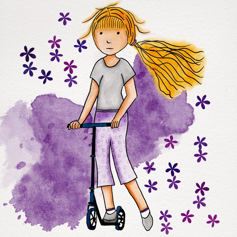 Scooter Girl - image 1 - student project