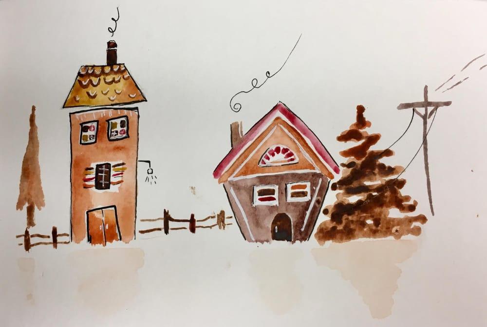 Gingerbread Neighborhood - image 2 - student project