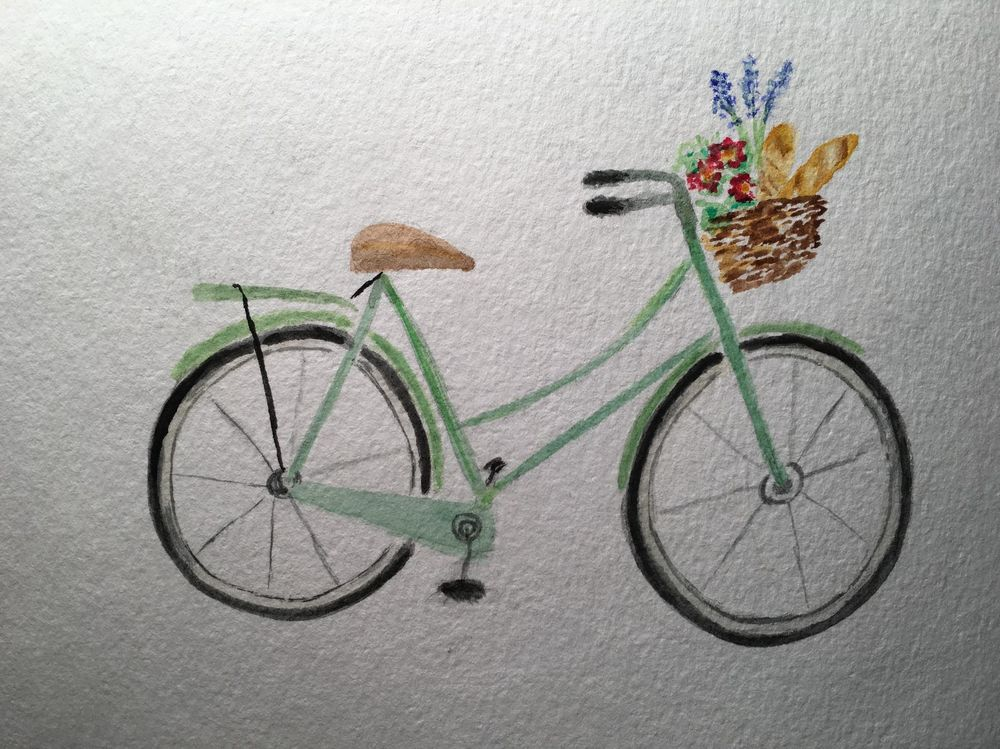 Bicycles and Baskets - image 2 - student project