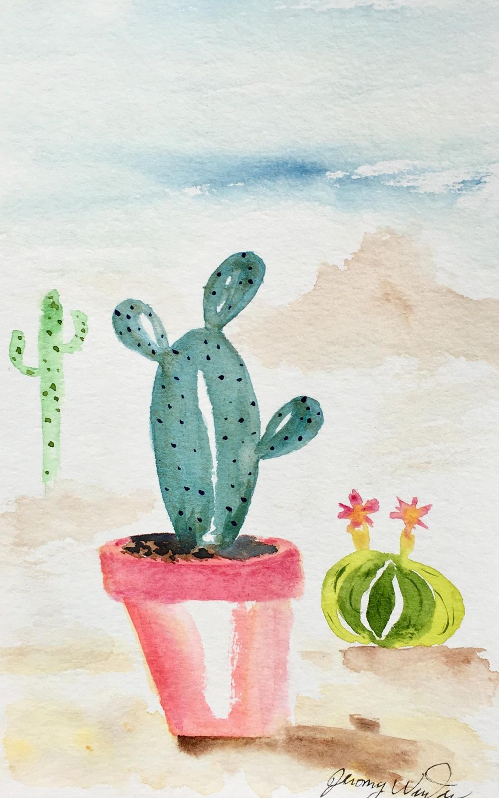 Prickly Cactus - image 2 - student project