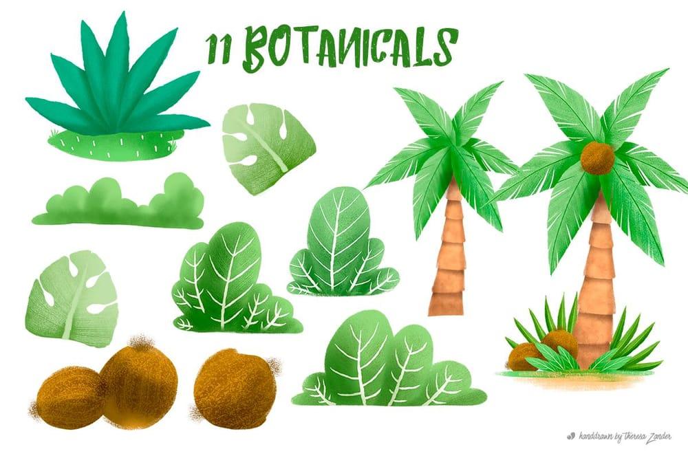 Summer Illustration Set Pack - image 3 - student project