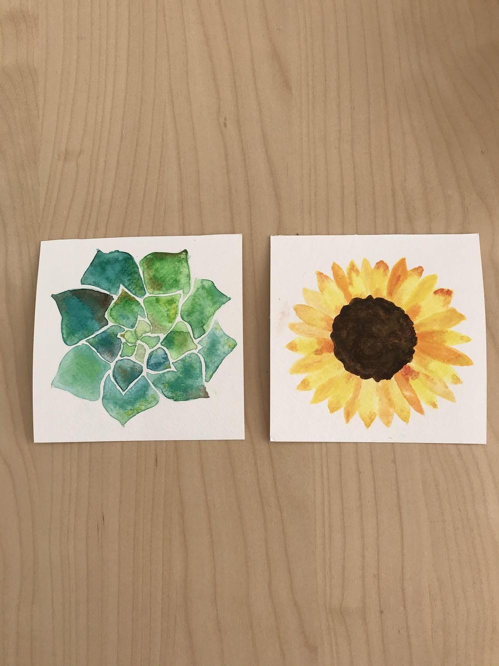 First time with watercolor and I loved it ! - image 1 - student project