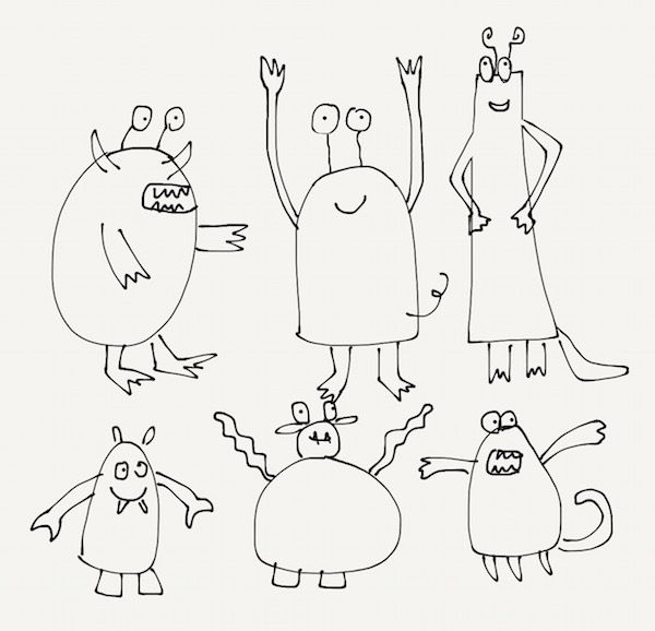 Monsters with iPad air2 and Fiftythree pencil and TéJé :-) - image 2 - student project