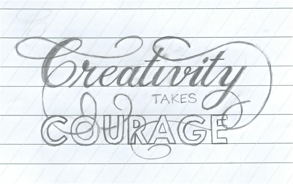 Creativity takes courage - image 1 - student project
