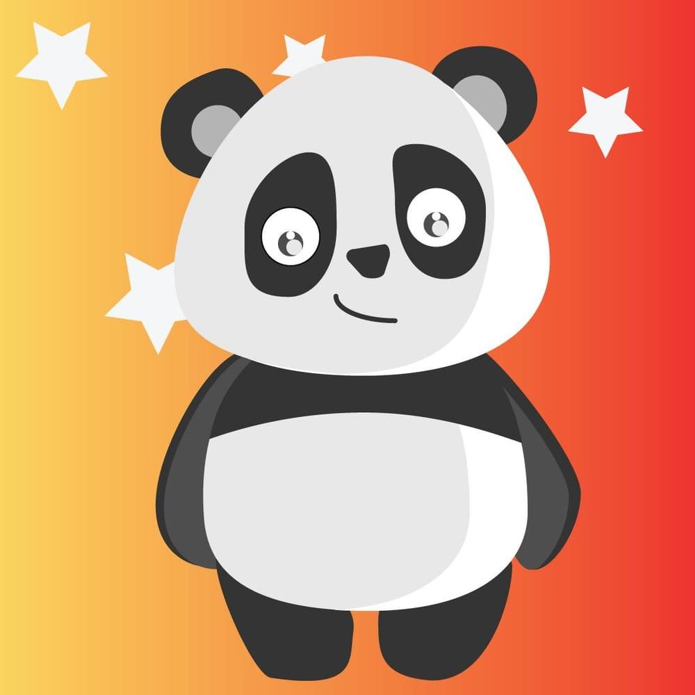 Panda Art,Paper Art - image 4 - student project