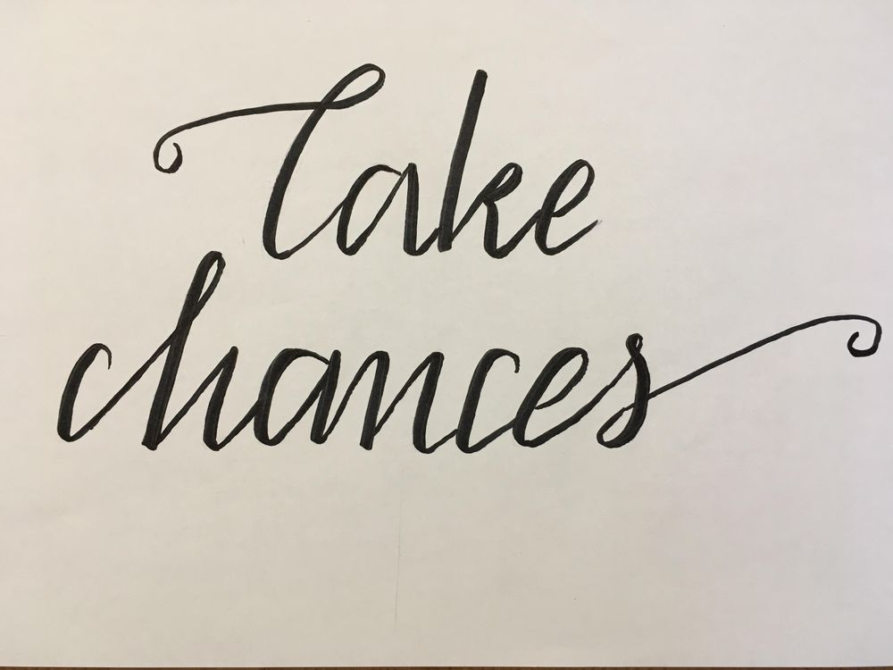 Take chances - image 1 - student project