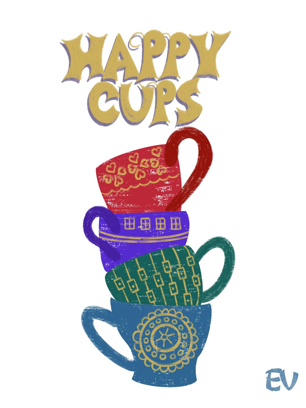Happy Cups - image 1 - student project