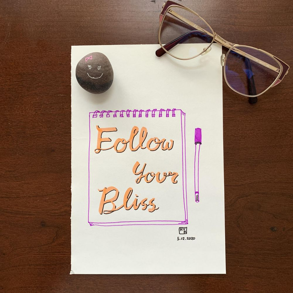 follow your bliss - image 4 - student project