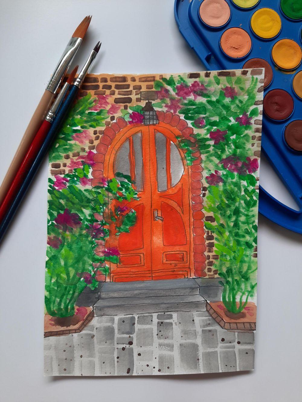 Red Door - image 1 - student project