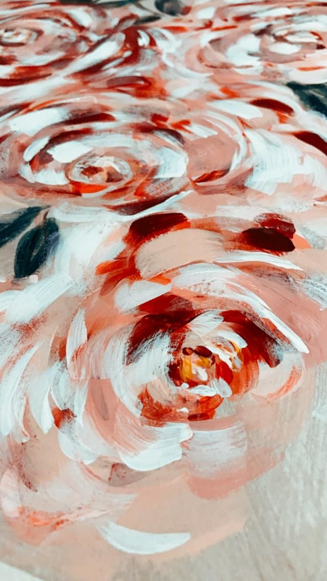 Expressive florals - image 1 - student project