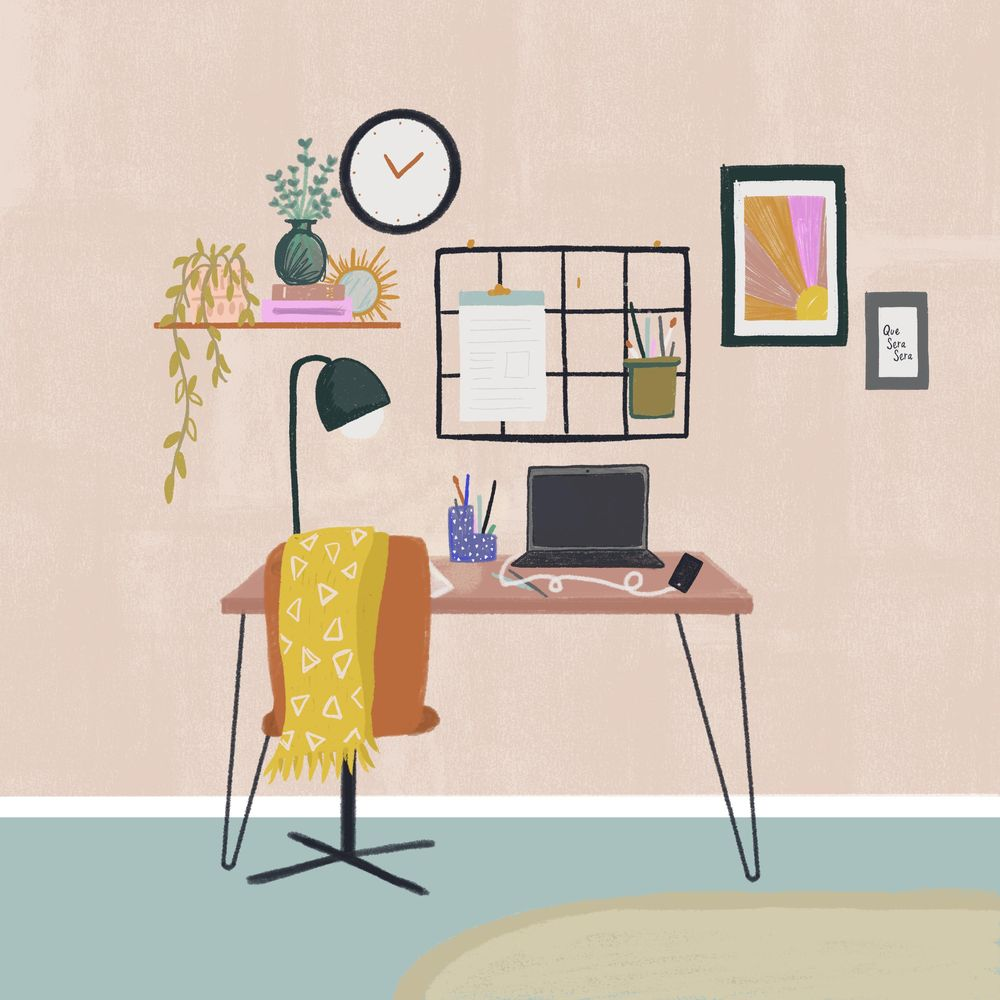 Fun With Spaces: Stylised Scene in Procreate, Charley Clements - image 1 - student project