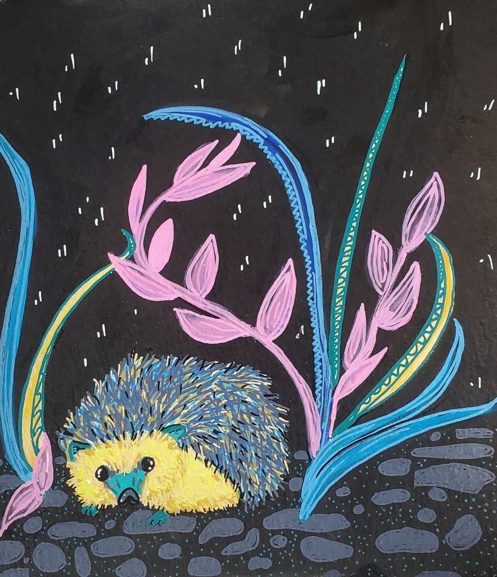 Hedgehog Design - image 1 - student project