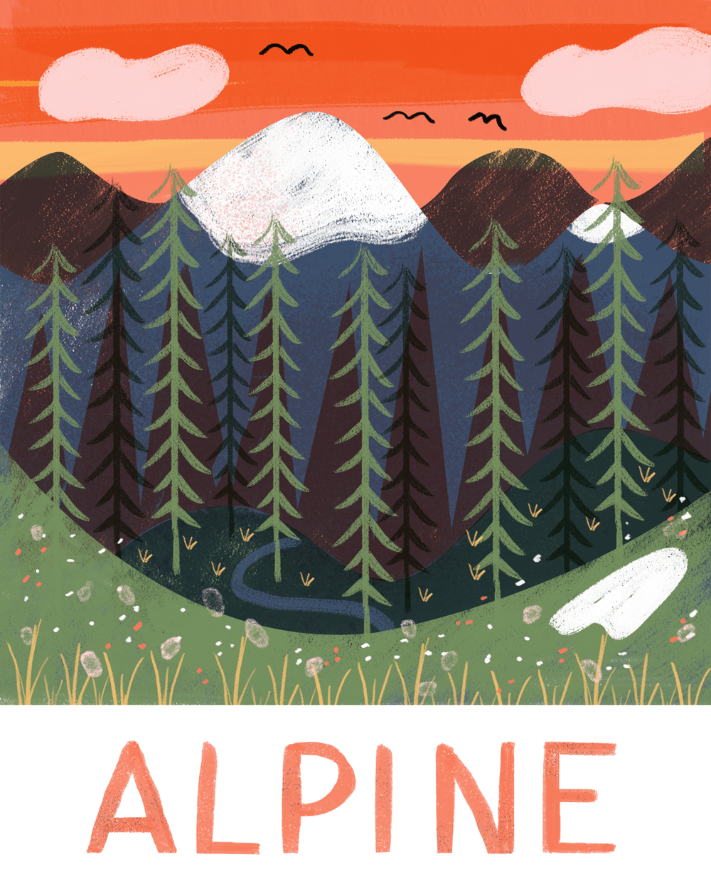 Alpine & Camping - image 1 - student project
