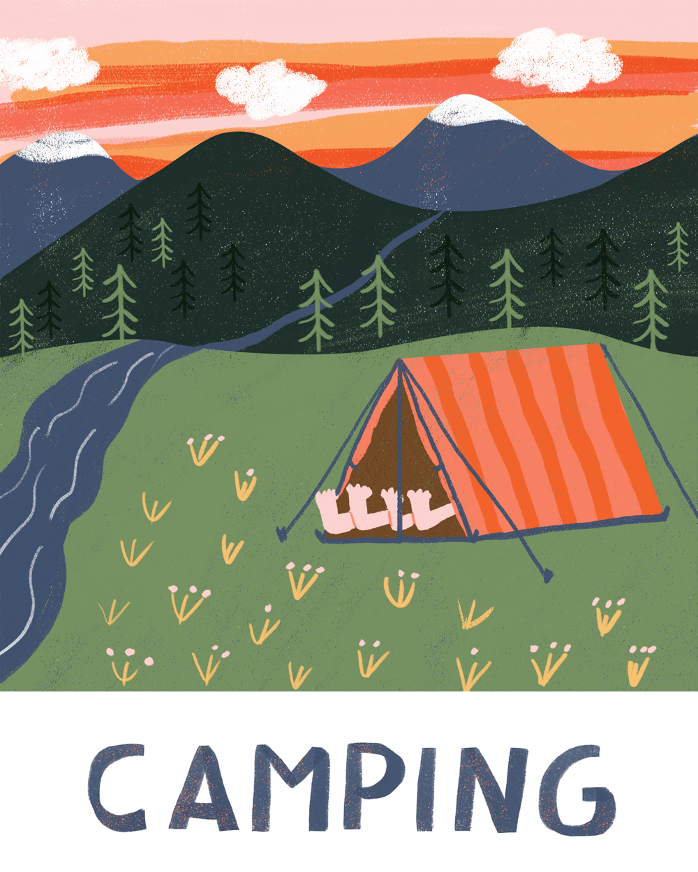 Alpine & Camping - image 2 - student project