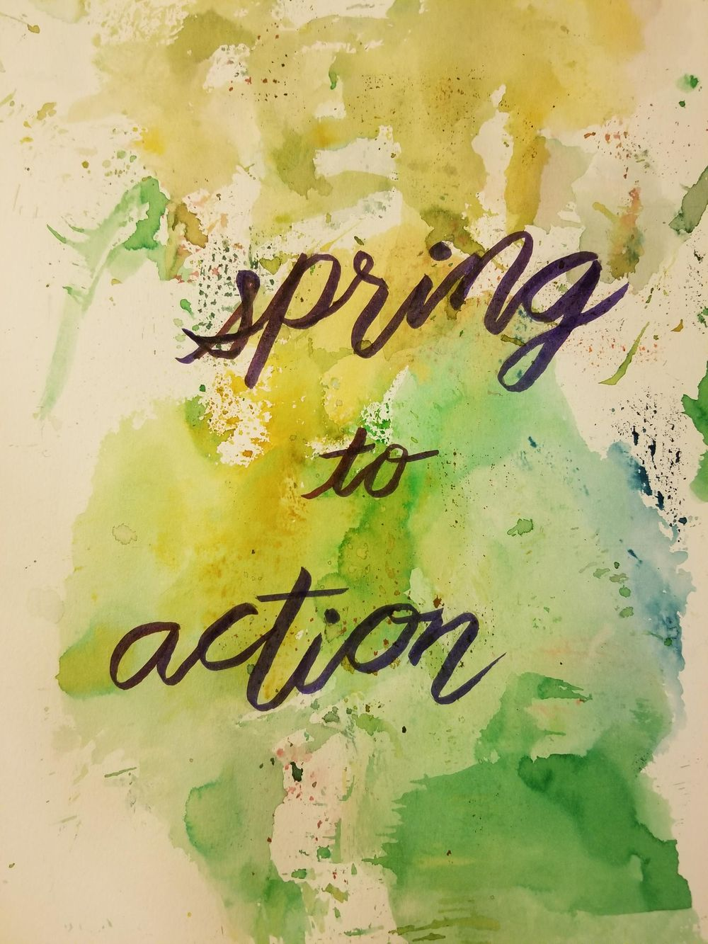 spring to action - image 1 - student project