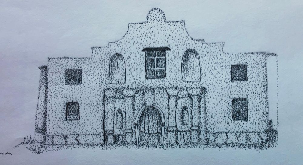 2 Stippling Projects - image 1 - student project