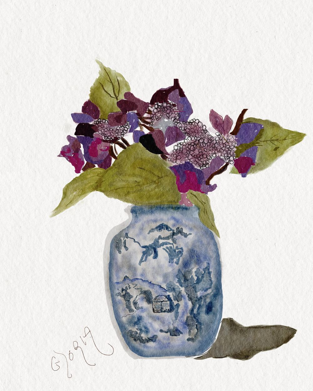 Ancient Chinese Vase - image 1 - student project