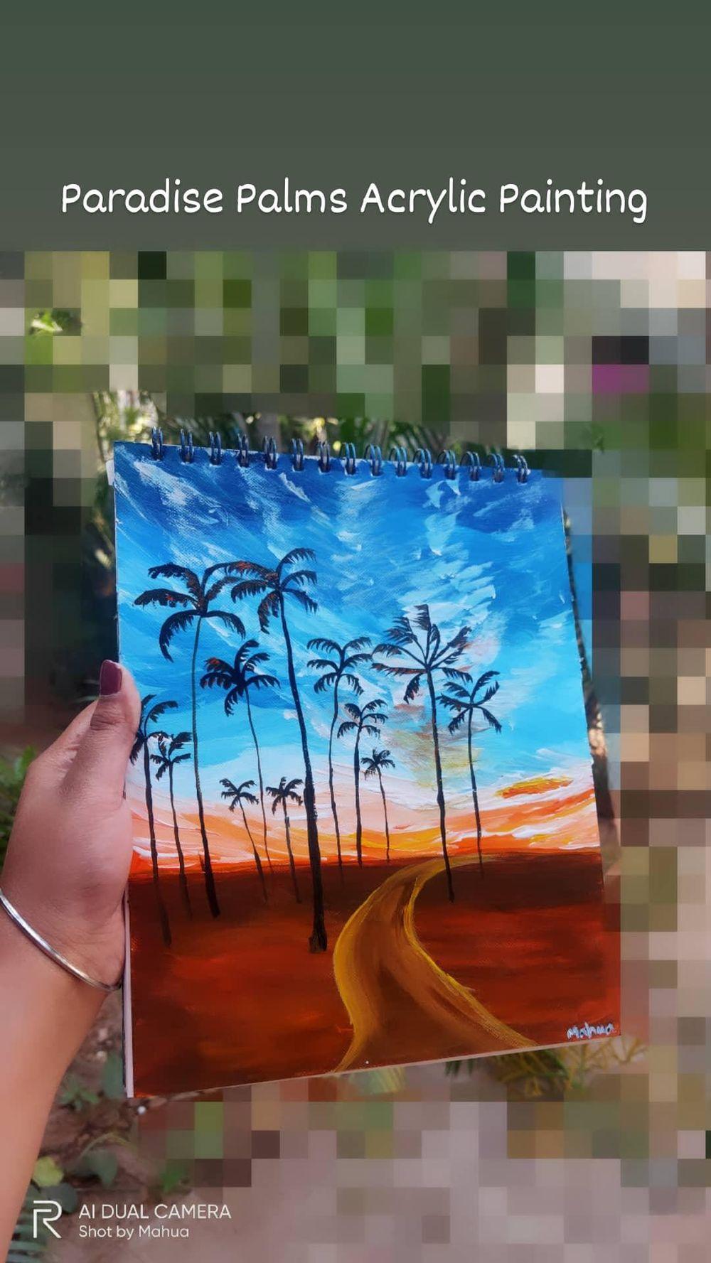 Sunset Palms - image 1 - student project