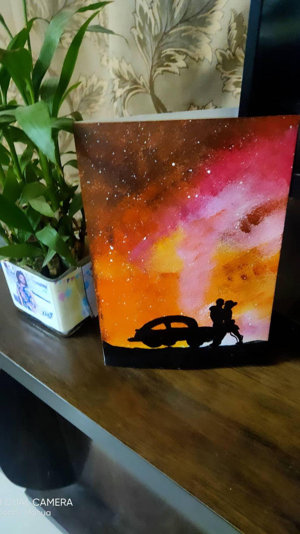 Romantic Sponge Paintings - image 2 - student project