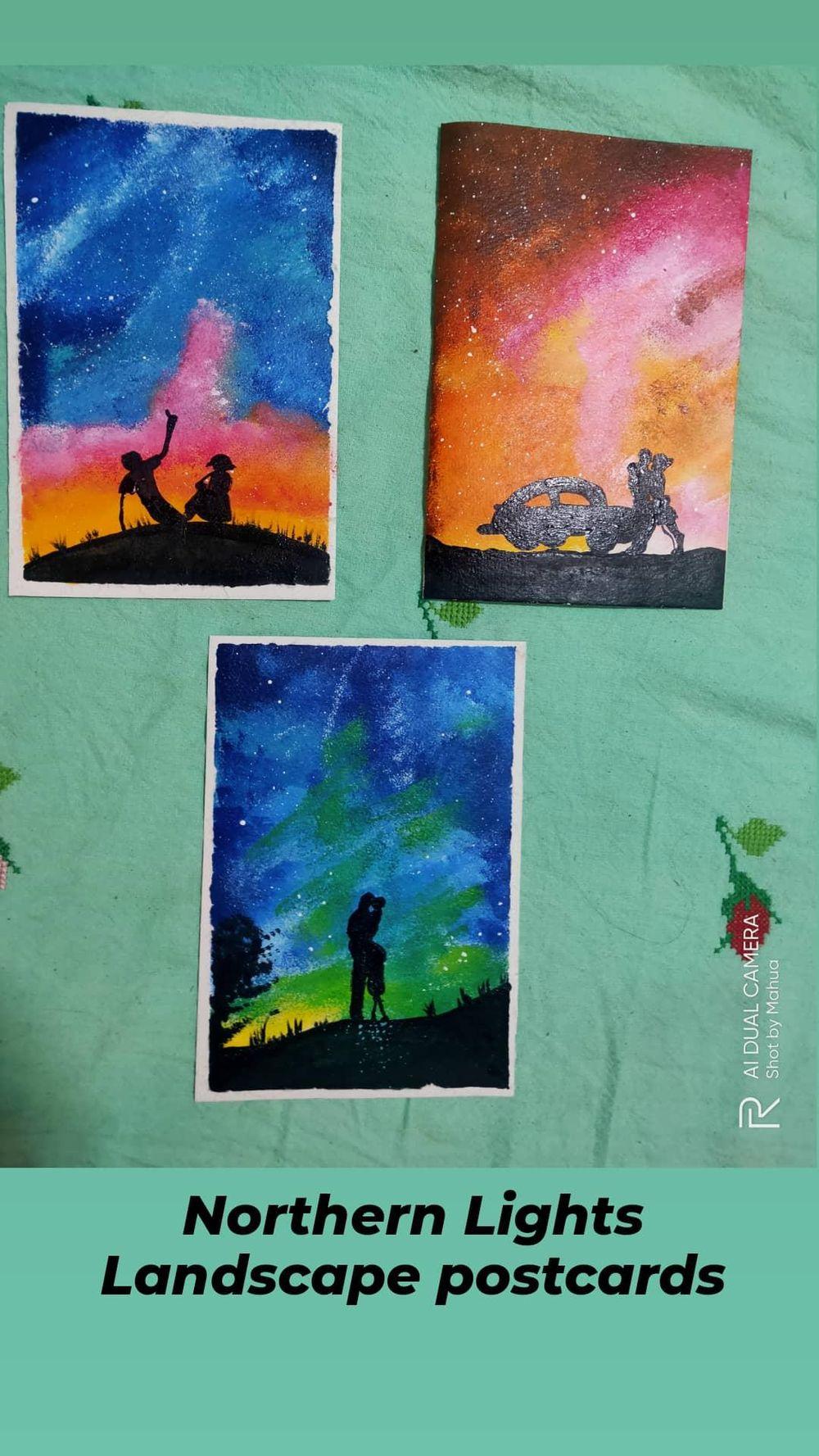 Romantic Sponge Paintings - image 1 - student project