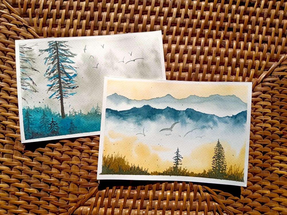 Misty Landscapes - image 1 - student project