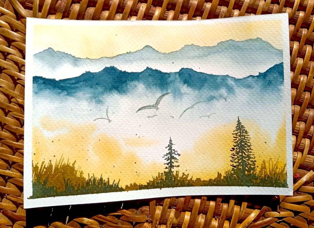 Misty Landscapes - image 2 - student project