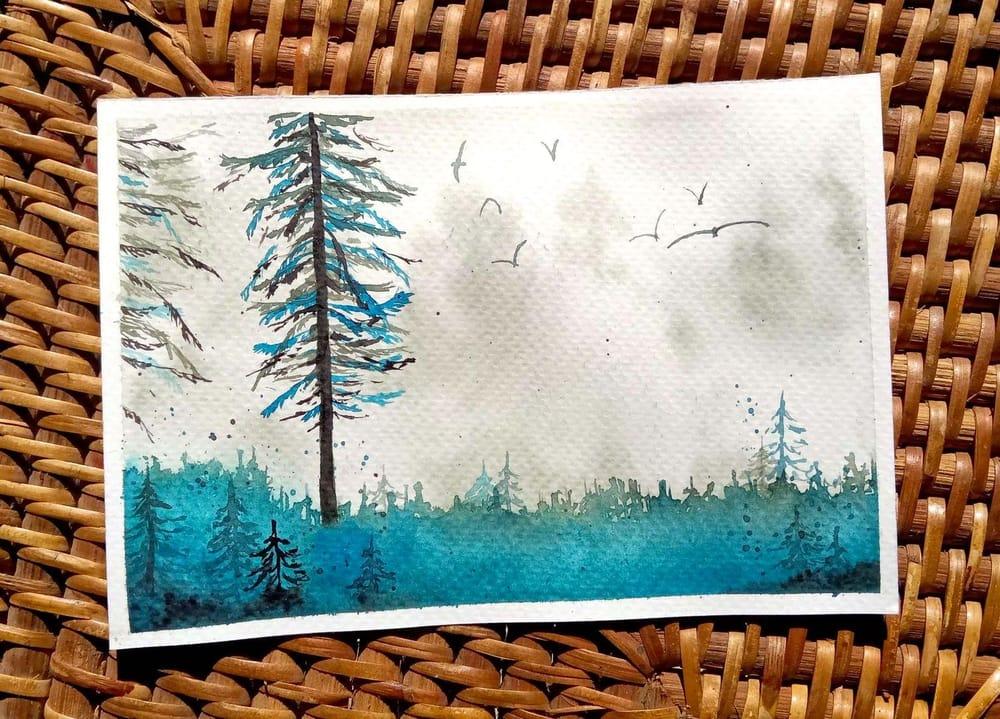 Misty Landscapes - image 3 - student project