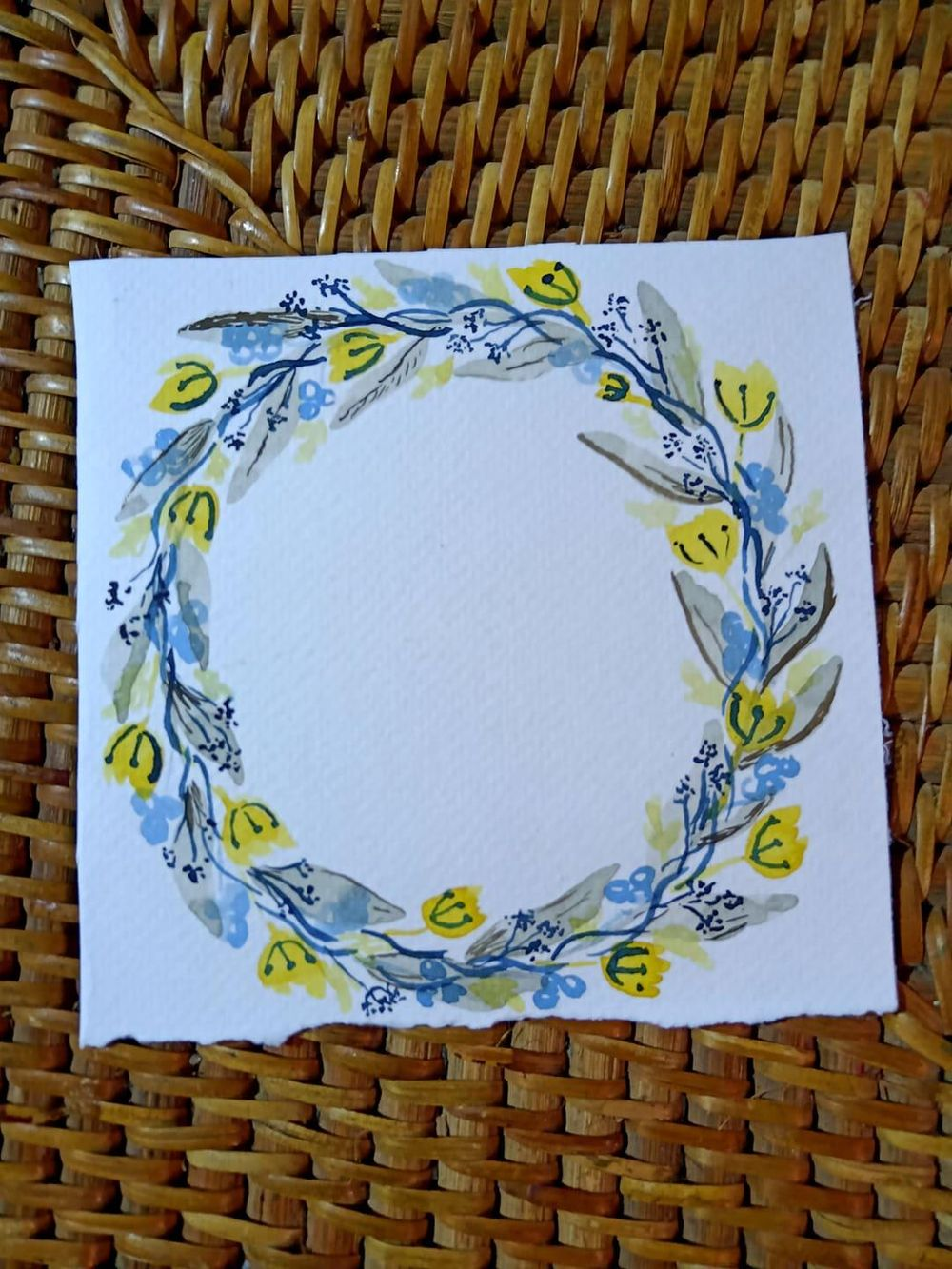 Foliage Wreath and Frame - image 1 - student project