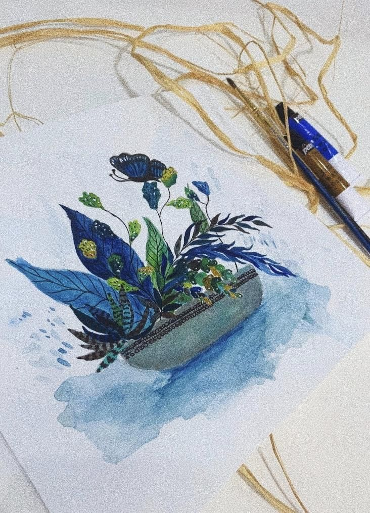 Acrylic Illustration - image 1 - student project