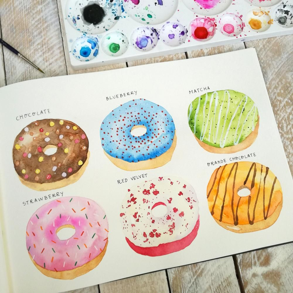 Donut tray - image 1 - student project