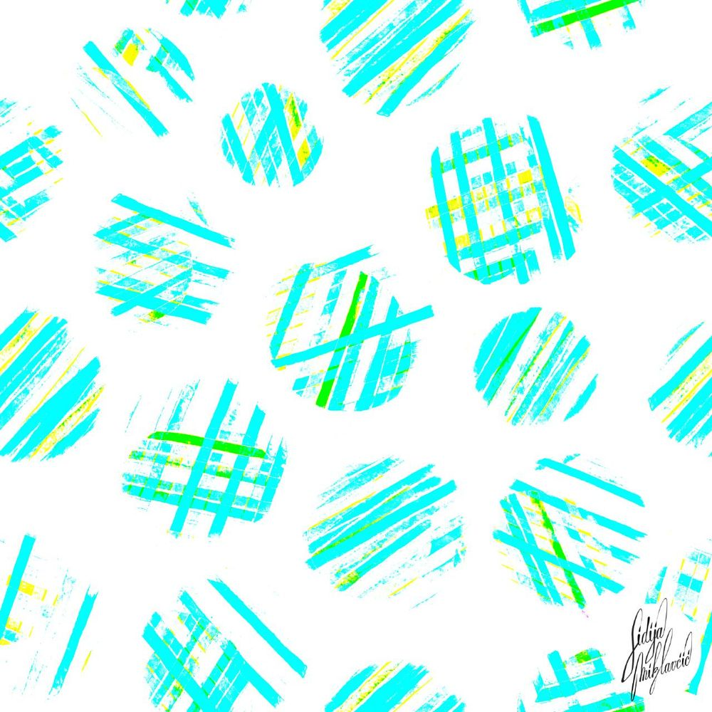 Pulse and Precision used in my ordinary work for surface pattern design - image 4 - student project