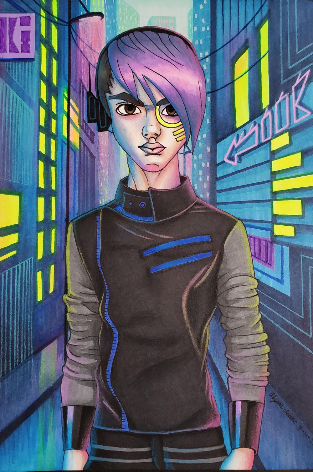 Cyber Punk - image 1 - student project