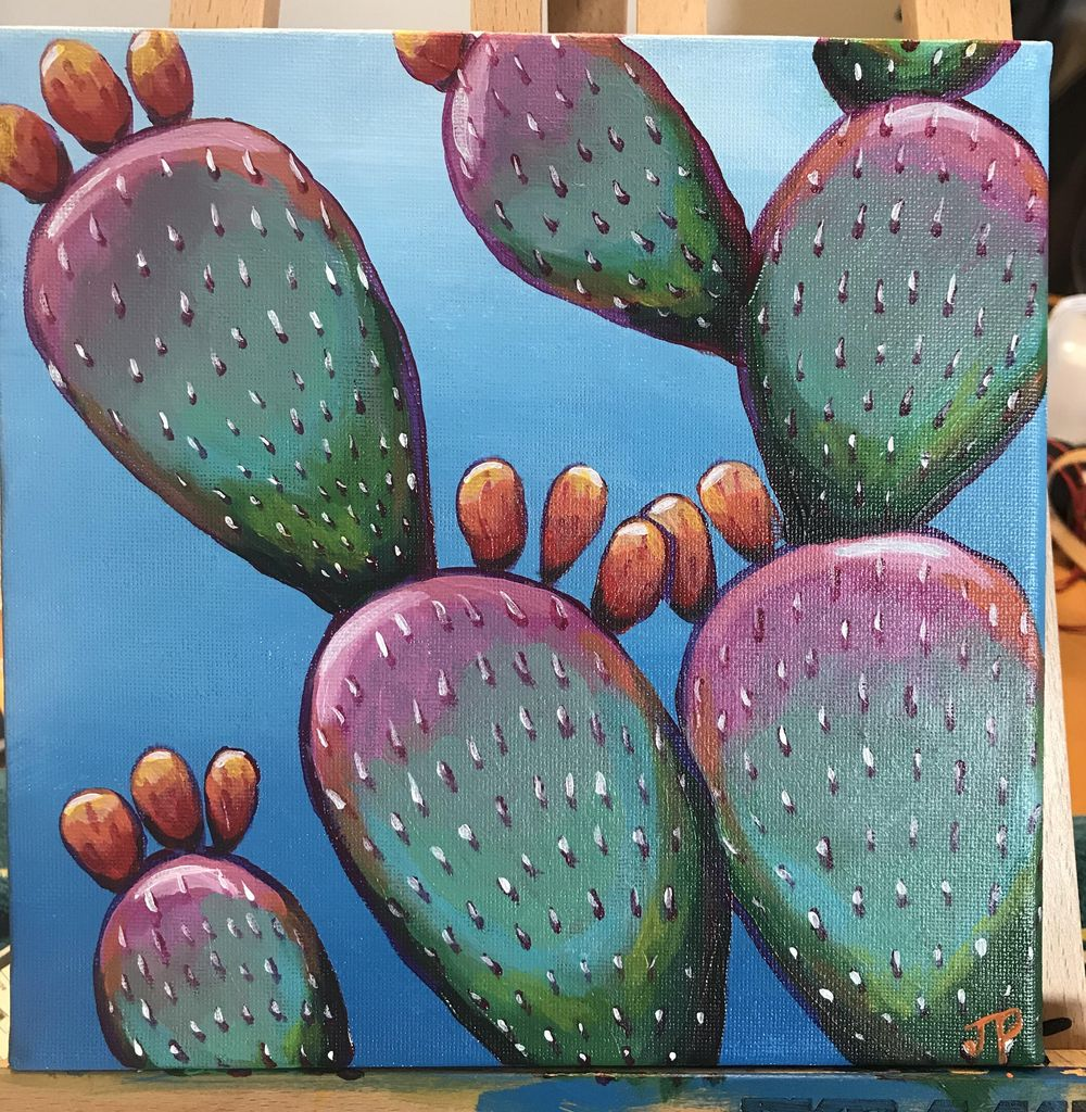 Cute cactus! - image 1 - student project