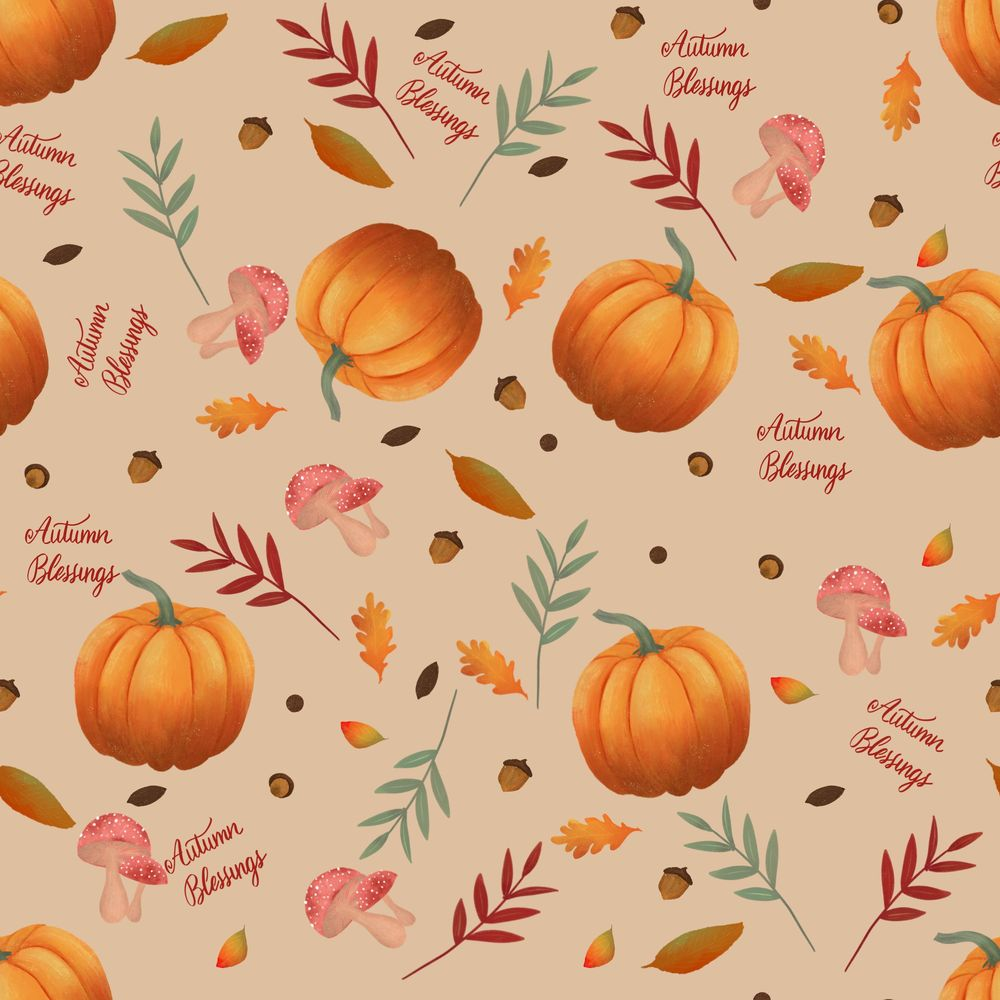 Autumn Blessings - image 2 - student project