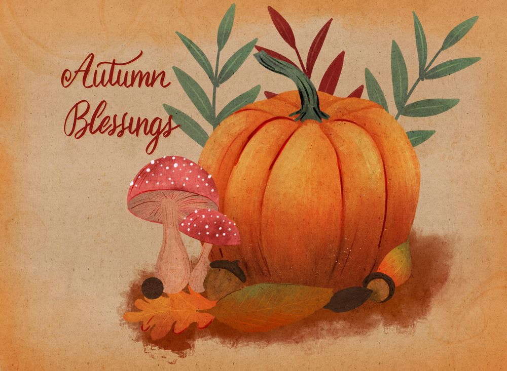 Autumn Blessings - image 1 - student project